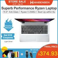 [Free shipping] MAIBENBEN Laptop DaMai E526 15.6 inch ADS screen/Ryzen 5 2500U / 8GB DDR4 RAM / 240G SSD / Win10 / sin
