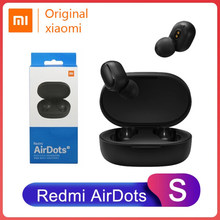 Xiaomi Redmi Airdots S Bluetooth 5.0 Gaming Wireless Earphone TWS Left Right Low Lag Mode Bluetooth 5.0 Noise Reduction Headset