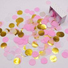 10g Rose Gold Светильник Оттенки розового круглый Форма Бумага воздушный шар