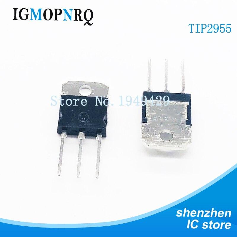 5pcs/lot TIP2955 PNP TO-218 transistor channel 15A60V new