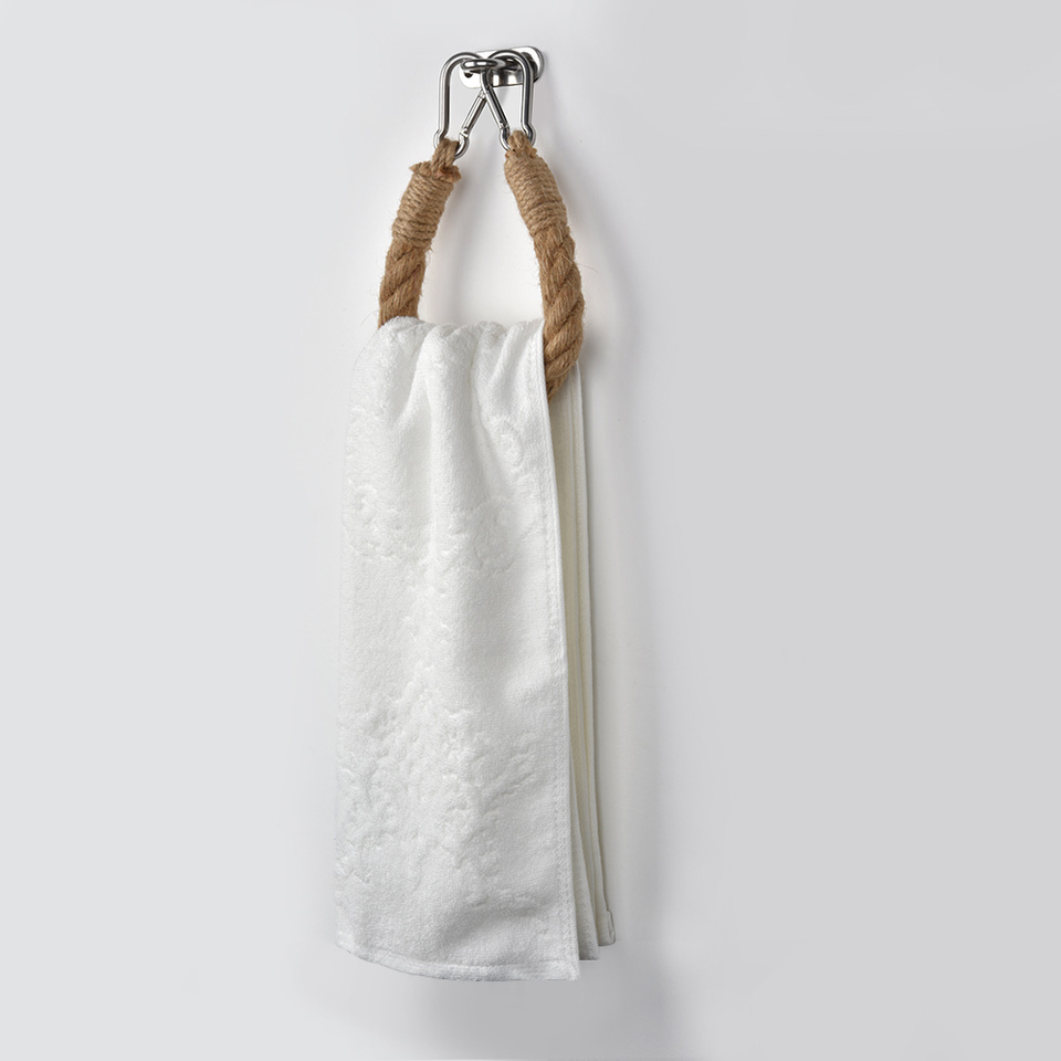 Vintage Weave Hand Towel Hanging Rope Toilet Paper-Holder Toilet Roll Holder