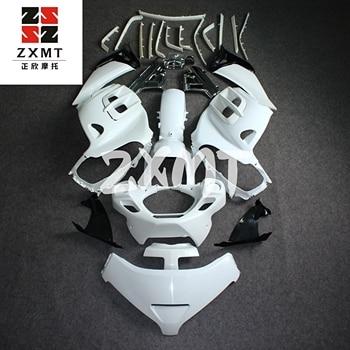 ZXMT Motorcycle Full Fairing Set Kit Bodywork for Goldwing 1800 2006 2011 Unpainted White Goldwing1800 06-11 2006 2007 GL1800