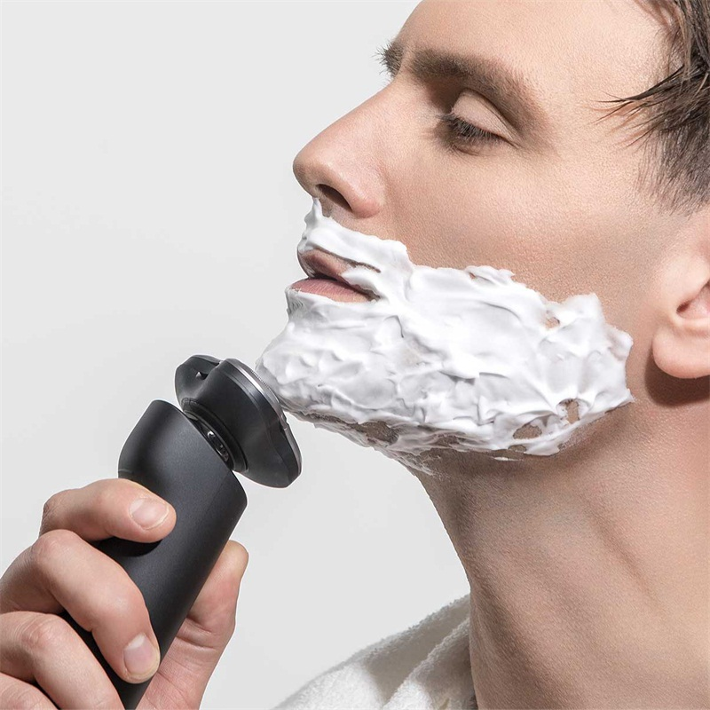Electric Shaver 3 Head Flex Comfy Clean Dry Wet Shaving Waterproof Fast Charging Men Electric Smart Hair Removal