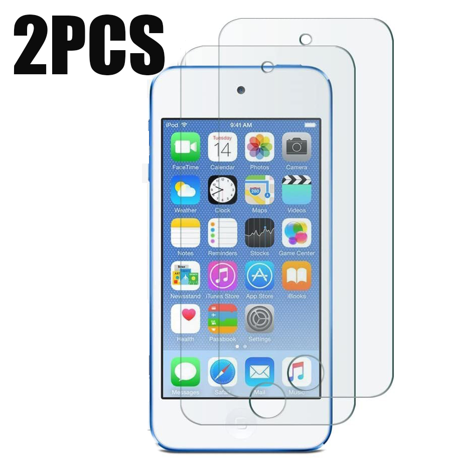2PCS For iPod Touch 5 6 7 Tempered Glass Screen Protector 2.5 9h Safety Protective Film on for Apple iPod Touch 5 6 7(China)