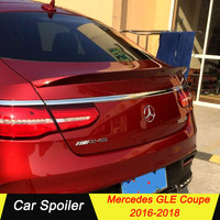 For Mercedes gle coupe 2016 2017 2018 ABS Spoiler car tail trunk spoiler rear wing tail wing decoration for benz gle coupe