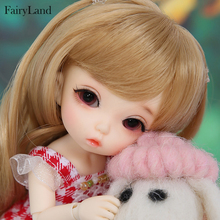 Fairyland Pukifee Nanuri 1/8 lalki BJD Model dziewczyny chłopcy oczy wysokiej jakości zabawki dla dziewczynek urodziny Xmas najlepsze prezenty