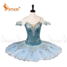 Ballet-Tutu Professional Costume Performance Classical Adult Blue BC006 Pancake Competition