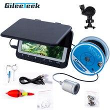 WF06 15M Video Fisch Finder Unterwasser Video Ice Fishfinder Angeln Kamera 6 stücke Infrarot LED monitor kamera kit tag geschenk