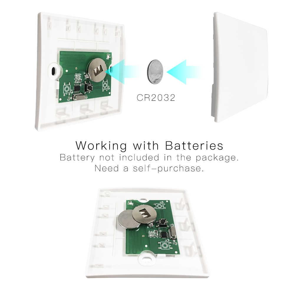 RF433 110V 220V odbiornik inteligentny dom Wifi bezprzewodowy pilot inteligentny przełącznik, inteligentne życie/aplikacja Tuya, współpracuje z Alexa Google Home