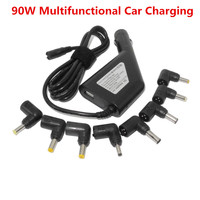 90W Automatic Universal Laptop Dc Car Charger Power Adapter 8Tips For Hp Acer Lenovo Sony Asus Laptops