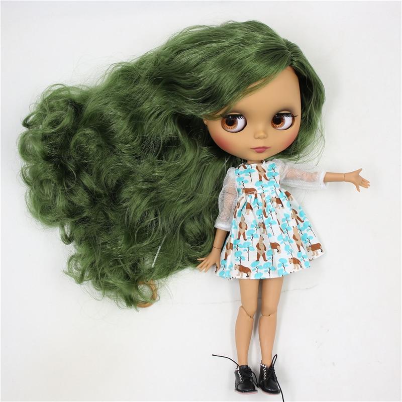Natalie – Custom Blythe Doll with Clothes Cute Face 1