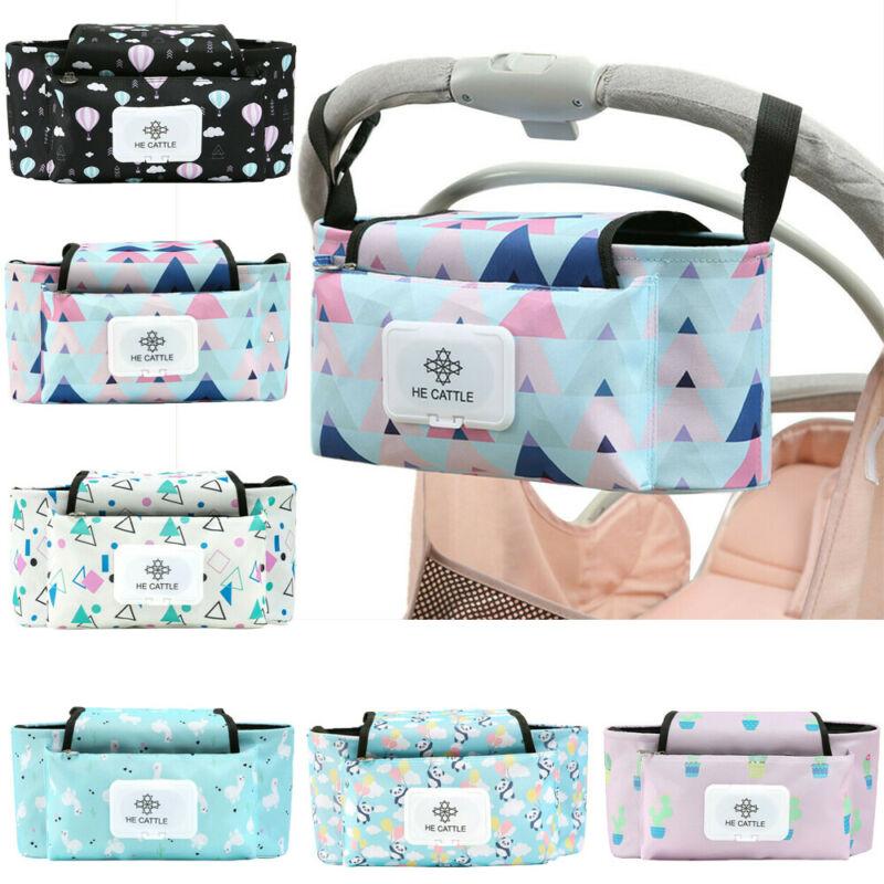 2020 Diaper Bags Baby Stroller Storage Bag Baby Pram Organizer Bag Pushchair Drink Food Holder Storage Organiser