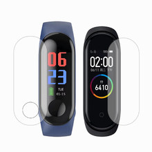 For Xiaomi Mi Band4 Mi Band3 Screen Protector High Permeability Film Full Screen For Xiaomi Mi Band4 Mi Band3 Smart Bracelet(China)