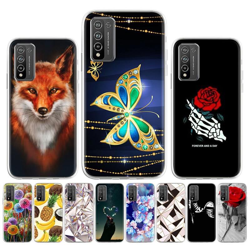 Чехол из ТПУ для Huawei Honor 10X Lite, чехол для телефона, мягкие силиконовые чехлы для Honor 10i 10 Lite X10 Max, чехол для Honor 10 X Lite