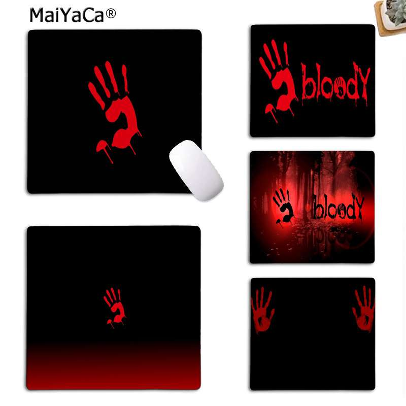 MaiYaCa Your Own Mats Bloody Beautiful Anime Mouse Mat Top Selling Wholesale Gaming Pad Mouse