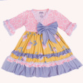 TUTU AND LULU High class dress dress for girls The waist bow design Notte by Marches