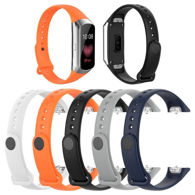 Replacement TPE Band Sweatproof Waterproof Wrist Strap Bracelet For Samsung Galaxy Fit SM-R370 Accessories
