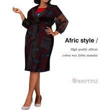 Новые африканские традиционные комплекты из 2 предметов с юбкой