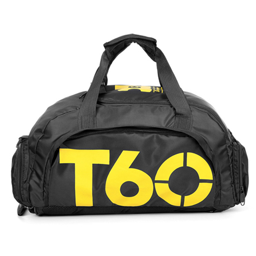 Fitness Bag T60 Large Sport Men Women Gym Backpack Female Waterproof With Shoes Compartment Travel Luggage Duffel Bags Sac De