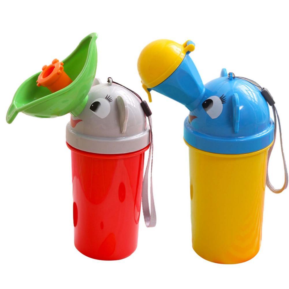 Portable Urine Bag For Baby Girl Boy Kids Cute Urinal Potty Car Toilet Automobiles Travel Urinal Urination Reusable Pee Bottle