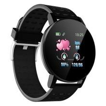119Plus Bluetooth Smart Watch Men Blood Pressure Sm