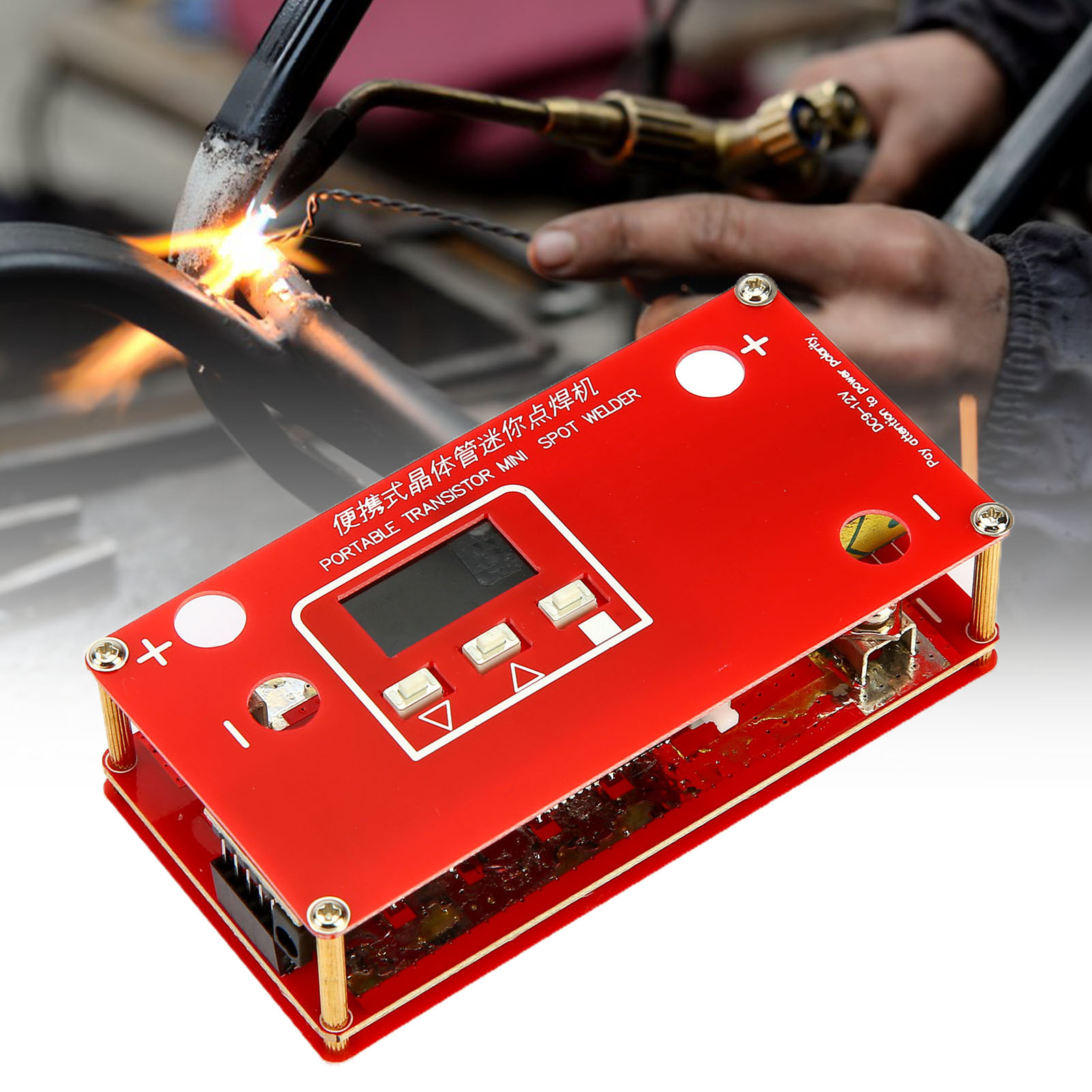 Portable Mini Transistor Equipment Battery Welder Spotwelder Spot Welding Welding Machine Pen 18650 DIY