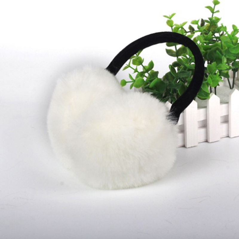 Winter Girls And Boys Ear Warmers Earmuffs Women Fur Earmuffs 2020 Ear Warmers Large Plush Imitation Rabbit Earmuff