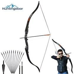 Jagd Recurve Bogen Professionelle Bogenschießen Jagd Bow Rechte Hand 30-50 £ Metall Riser Ausbildung Schießen Im Freien Nehmen Unten bogen