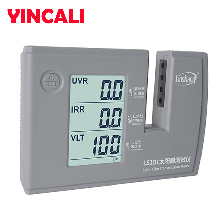 Newly Solar Film Transmission Meter LS101 Self-calibration And Auto-calibration, NO Need Any Manual Adjustments Resolution 0.1%