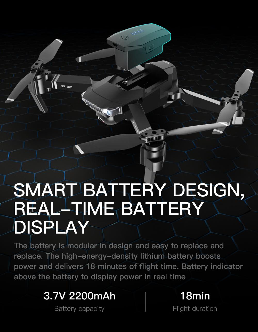 SG901 4K Quadcopter 7