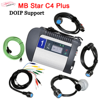 цена на 2020 super DOIP MB SD C4 PLUS Diagnosis for MB cars truck + software full system install in HDD/SSD DOIP C4 plus for more cars