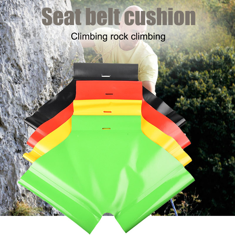 Durable Climbing Seat Belt Cushion Harness Sit For Canyoning Wading Rappelling Multifunctional ALS88