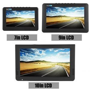 Image 2 - スマートカーテレビ 10 インチ DVB T T2 16:9 hd 1080 p デジタルアナログポータブルテレビカラーテレビプレーヤー用 eu プラグ