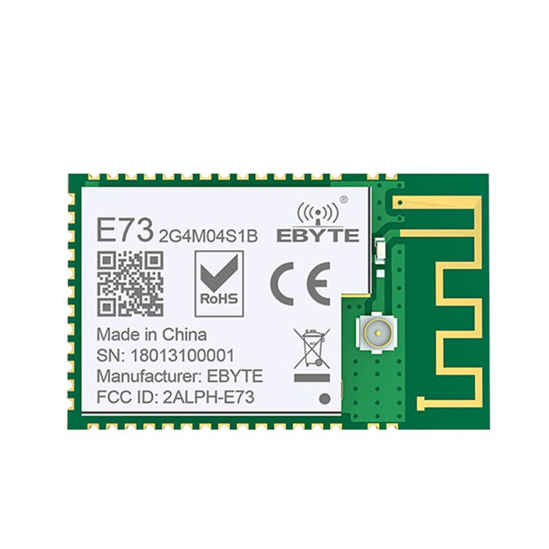 Durable NRF52832 2.4GHz Transceiver Receiver E73-2G4M04S1B SMD BLE 5.0 Wireless Bluetooth Module