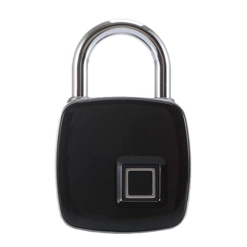 Fingerprint Padlock Outdoor Luggage P3 Fingerprint Smart Lock Low Power 2 Year Standby Duration Anti-theft Door Lock