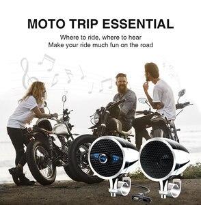 """Image 5 - Lexin Новый S3 3 """"50 Вт MP3 музыкальный аудио плеер Bluetooth колонки для мотоцикла водонепроницаемый портативный стерео с FM радио Bocina"""