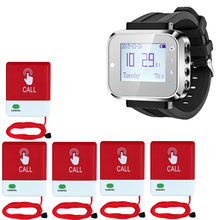 Wireless Caregiver Pager Waterproof Hospital Patient Nurse Calling Button System