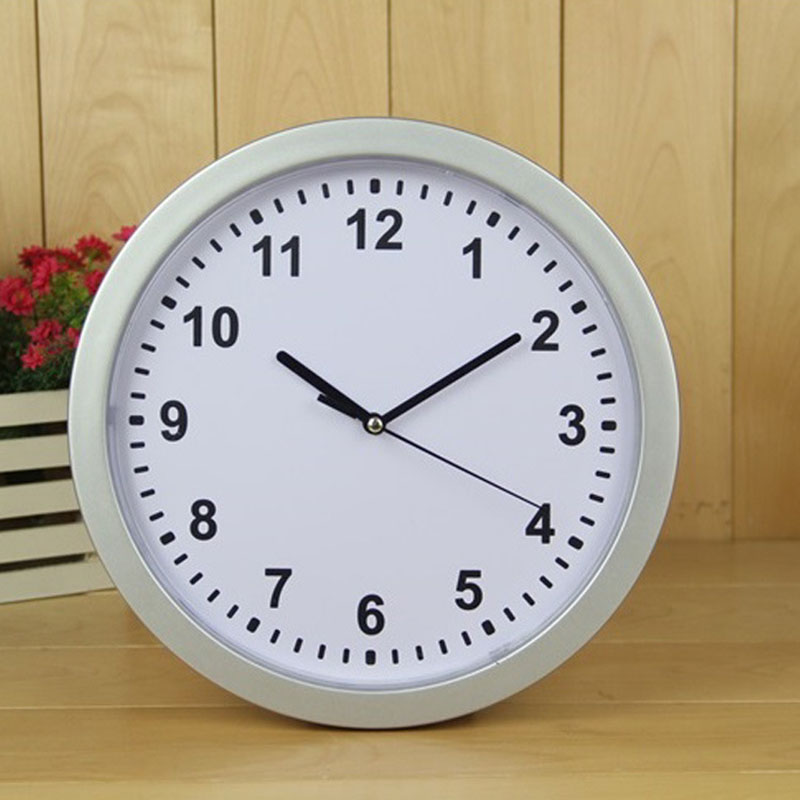 Wall Clock Safe Creative Hidden Secret Storage Box Cash Money Jewelry Storage Home Office Security Cabinet