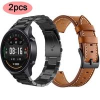 Cinturino in acciaio inossidabile per xiaomi mi watch cinturino colorato per xiaomi mi smart watch colore nero sport di ricambio globale