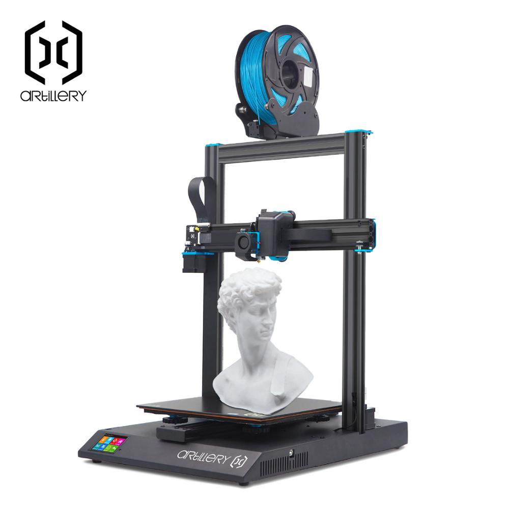 Artillery Sidewinder X1 SW-X1 3D Printer 300x300x400mm Large Plus Size High Precision Dual Z axis TFT Touch Screen 2020 Newest