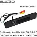 ZJCGO Автомобильная камера заднего вида для Mercedes Benz MB A M ML GLK GLA GLC GLE Class X204 W166 W176