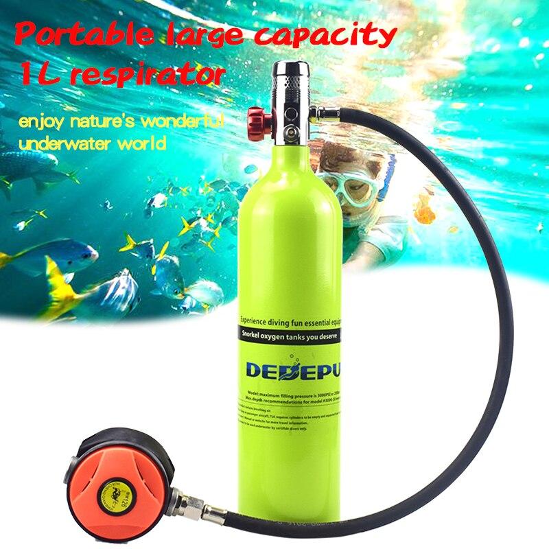 Купить dedepu кислородный баллон система для дайвинга подводное дыхание
