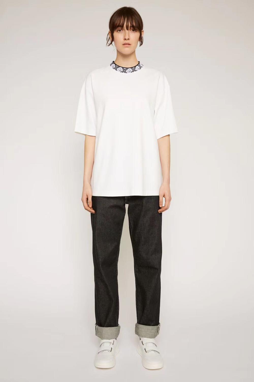 2020 AC Studios Smiling Face Summer New Fashion Women T Shirts Cotton Chiara Ferragni Sequins Acne Style Men T-Shirts Stars 37