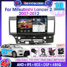 Android100 4g+64g 10 inch 4g net+wifi 2 din car radio for mitsubishi
