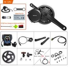 Bafang bicicleta eléctrica con motor potente BBSHD, 48V, 1000W, BB, 100MM, 40T, 42T, 44T, 46T, equipos de conversión para bicicleta 8FUN E BIKE