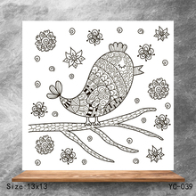 ZhuoAng bird Clear Stamps/Silicone Transparent Seals for DIY scrapbooking photo album Stamps
