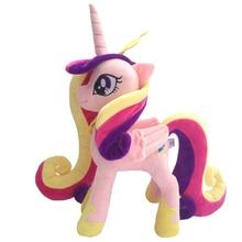 """يونيكورن الأميرة Cadance محشوة الحيوانات الحصان أفخم دمية الاطفال اللعب هدية عظيمة 12 """"30 سنتيمتر"""