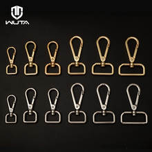 WUTA New Key Chain Ring Swivel Trigger Hook Lobster Clasp DIY Craft Outdoor Backpack Bag Part Snap Dog Clip Hook DIY Accessories