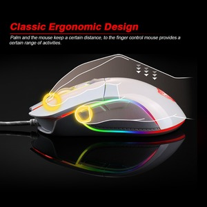 Image 3 - Motospeed V30 Professional Wired Gaming Mouse 3500DPI Optical USB Computer Mouse Gamer Mice X7 Android IOS Silent Mause For PC