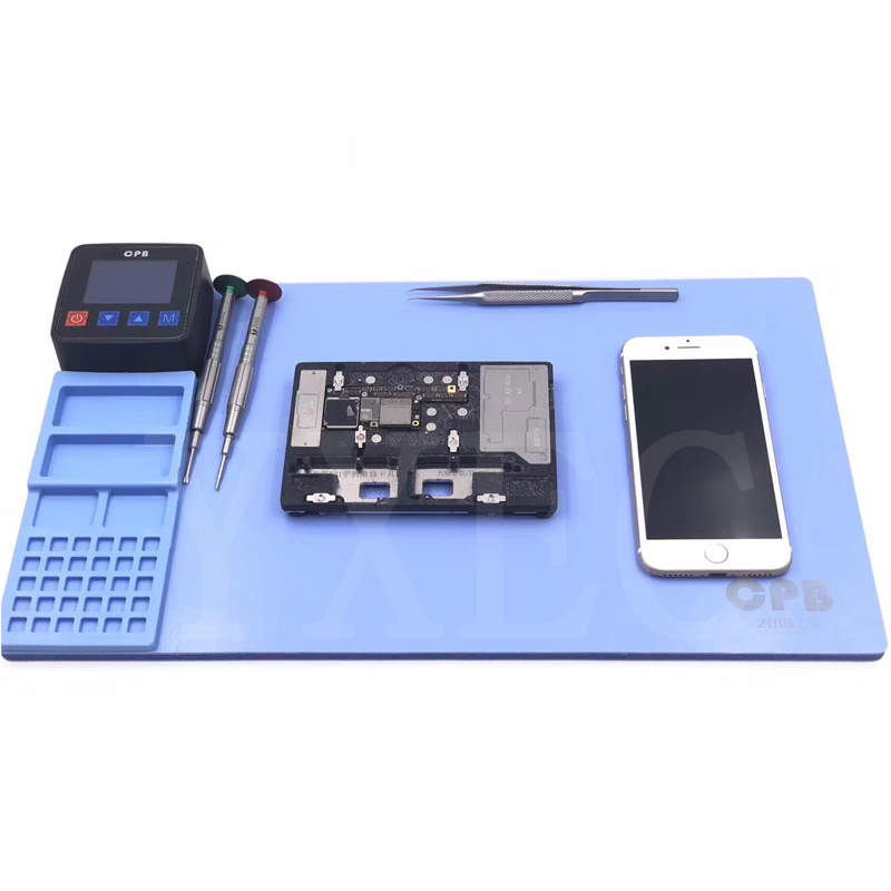 Mijing CPB LCD Screen Opening Separate Tool Heating Rubber Pad Separator Phone Screen Disassembly Tool For IPhone IPad